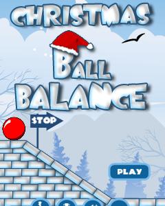 Christmas Ball Balance 320x240