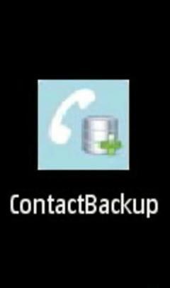 Contact Backup v1.00