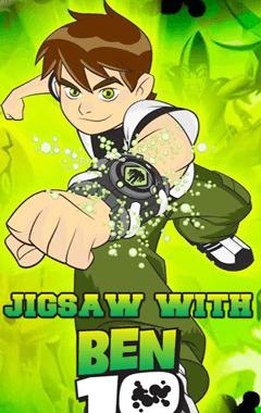 Jigsaw with Ben 10 (240x400)