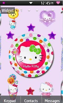Samsung Star 2 Theme Hello Kitty