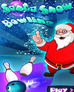 Santa Snow Bowling 360x640