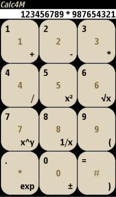 Calculator 4 M
