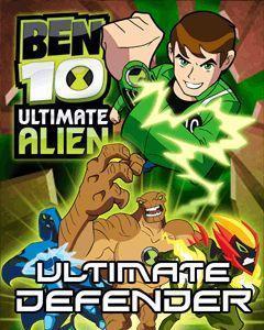 Ben 10 Ultimate Alien: Ultimate Defender  - 240x320