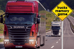 Trucks Memory Game (320x240)