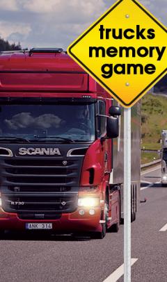 Trucks Memory Game (360x640)