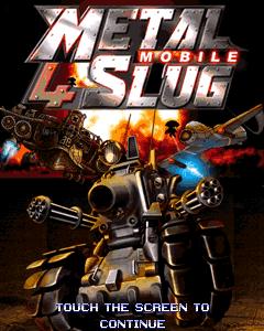 Metal Slug 4 Touchscreen (240x400)
