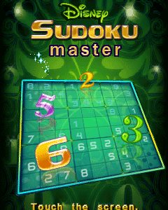 Disney Sudoku Master - Touchscreen(230x320 & 240x400)