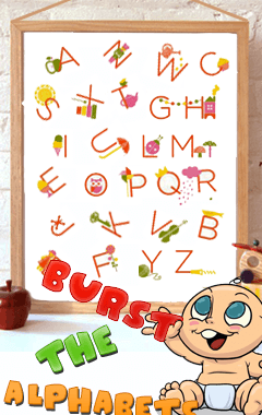 Burst The Alphabets (240x400)