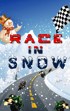 Race In Snow (240x400)