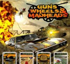 Guns wheels madhed 3D