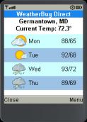 WeatherBug Direct