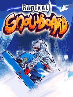 Radikal snowboard