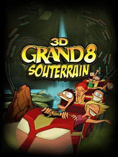 3D Grand 8 souterrain