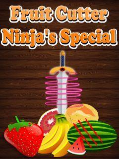 Fruit cutter: Ninja special