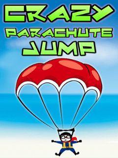 Crazy parachute jump