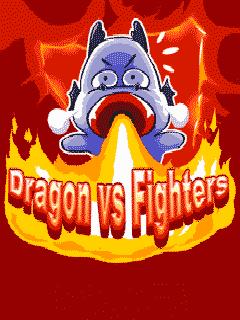 Dragon vs fighters