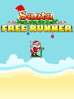 Santa free runner