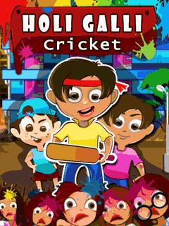 Holi galli cricket
