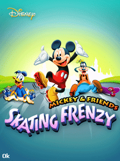 Mickey & friends: Skating frenzy