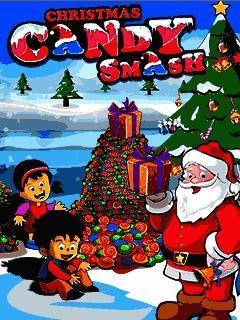 Christmas candy smash