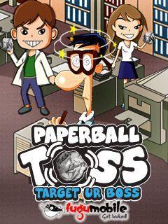 Paperball Toss