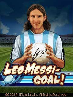 Leo Messi: Goal!