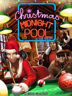 Christmas midnight pool