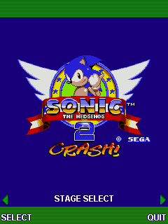 Sonic The Hedgehog 2 Crash