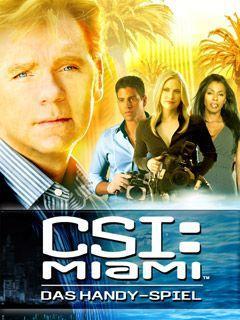CSI Miami the Mobile Game