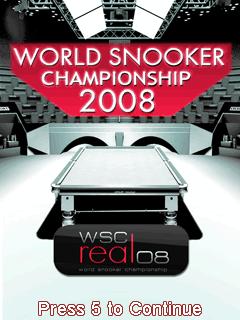 World Snooker Championship 2008 3D