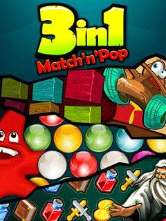 3 in 1 Match'n'Pop