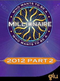 Who wants to be a Millionaire? 2012 Part 2