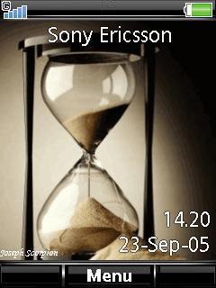 Animated Sand Clock