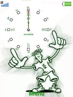 Fido Dido Clock