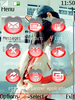 Free Download Love Kiss Lovely Theme for Nokia 3120 Classic