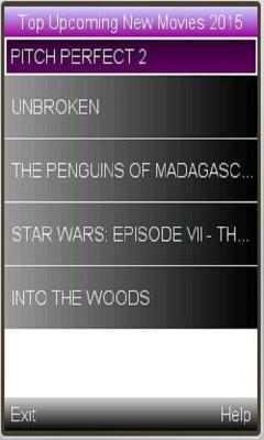 2015 latest movies