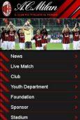 AC Milan mobile site