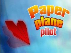 Paper plane pilot