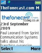 The Fonecast