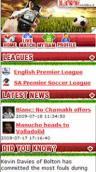 Live soccer match updates