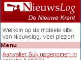 Nieuwslog mobiel