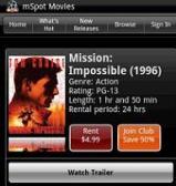 mSpot Mobile Movies