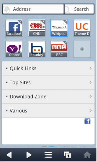 Free Download UC Browser 8 for Nokia Asha 206 - App