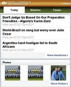 Yahoo! World Cup Coverage
