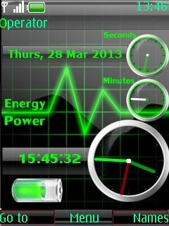 3d Energy 3 Clocks
