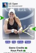 US Open Tennis Women by Keys for webkit