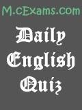 English Grammar Assessment