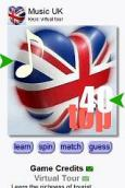 Music Tour UK by Keys for iphone android bb nokia