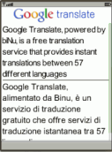 Italian English Italiano