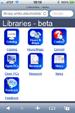 UMKC Library Mobile Website